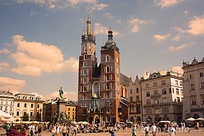 Cracow (Krakow, Poland) Editorial Image