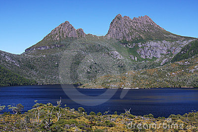 Cradle Mountain and Dove Lake in Tasmania