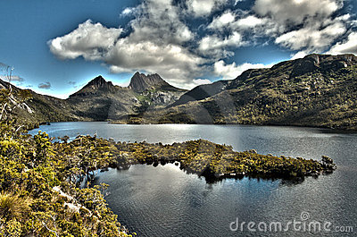 Cradle Mountain and Lake Dove