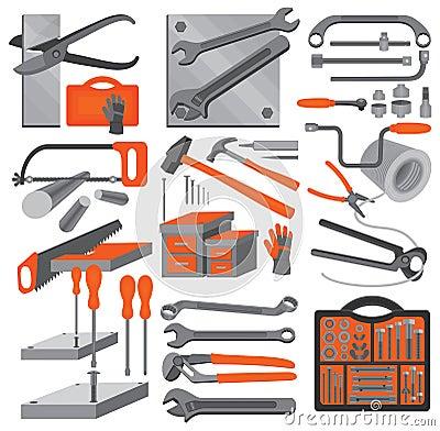 Craft icons – Hand tools (Set 2)