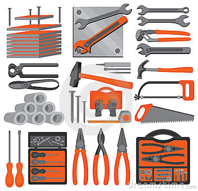 Craft icons – Hand tools (Set 5)