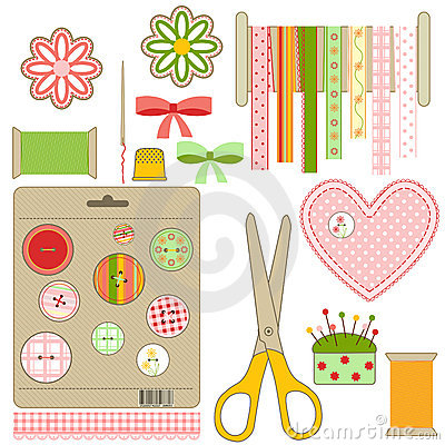 Craft and needlework set