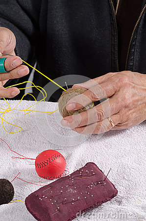 Crafting traditional sport balls