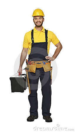 Craftsman ready for work