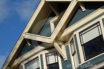 Craftsman Style House Detail