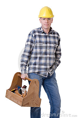 Craftsman with toolbox