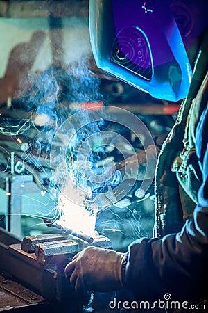 Free Craftsman Weld Steel Royalty Free Stock Photo - 53987235