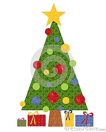 Crafty Paper Christmas Tree
