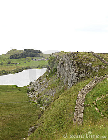 Crag Lough at Hadrian s wall