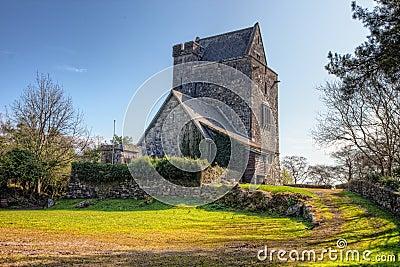 Craggaunowen castle in Co. Clare - Ireland.