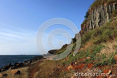 Craggy cliff