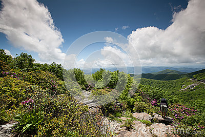 Craggy Gardens Pinnacle Western NC Mountains
