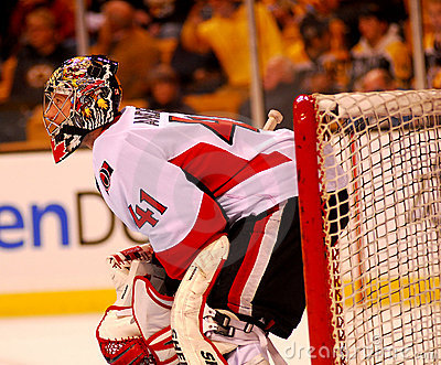 Craig Anderson Ottawa Senators Editorial Photography