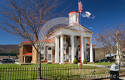 The Craig County Courthouse - USA Editorial Stock Image