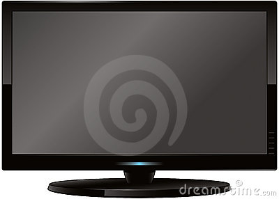 Écran plat moderne TV