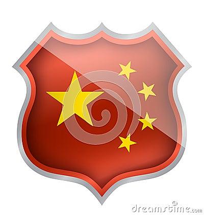 Écran protecteur de la Chine