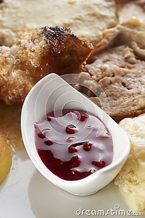 Cranberries jam