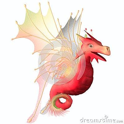 Cranberry Faerie Dragon