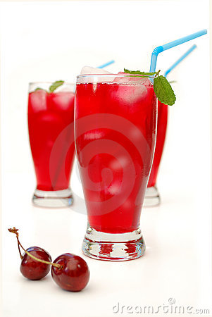 Free Cranberry Juice Cocktail Royalty Free Stock Photography - 14617227