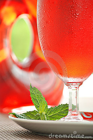 Cranberry Juice Cocktail Royalty Free Stock Image - Image: 7337946