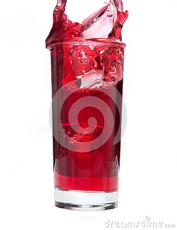 Cranberry Juice Splash