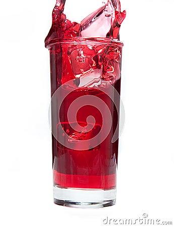Cranberry Juice Splash