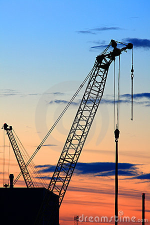 Free Crane Royalty Free Stock Photo - 16338955