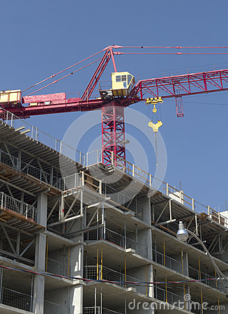 Free Crane And Construction Stock Image - 34810101