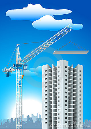 Free Crane Construction Stock Photo - 9103330