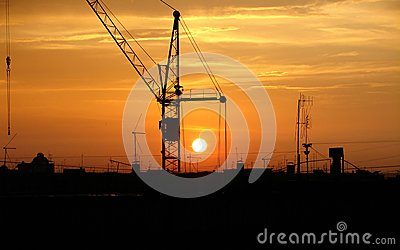 The crane and decline