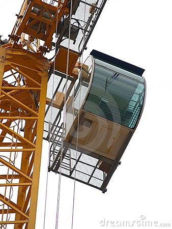 Free Crane Detail: Cabin Royalty Free Stock Photography - 216417