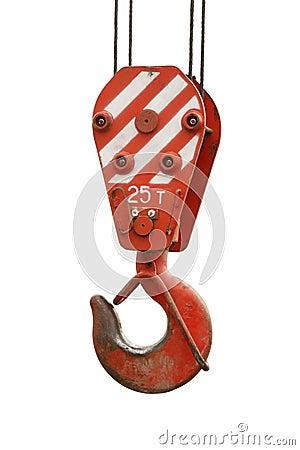 Free Crane Hook Royalty Free Stock Photography - 15758937