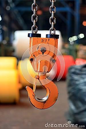 Free Crane Hook Stock Image - 4688901