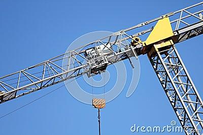 Crane Leaning