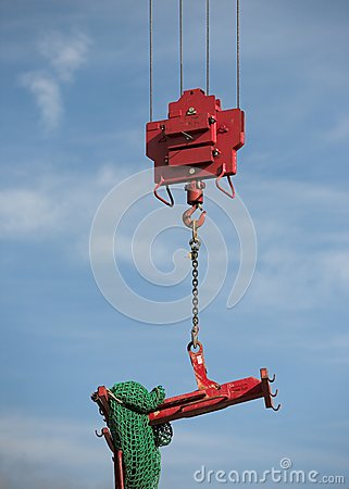 Crane Lifting Load