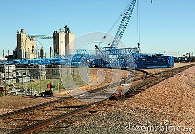 Crane Stockyard