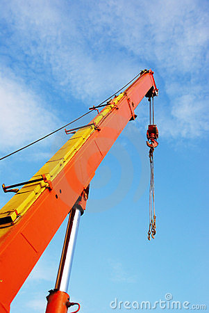 Free Crane To The Sky Royalty Free Stock Images - 14316769