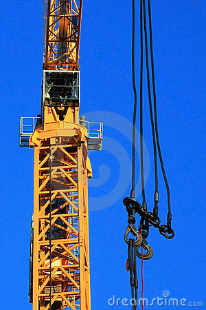 Free Crane With Hooks Royalty Free Stock Photography - 7175537