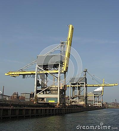 Free Cranes Royalty Free Stock Photo - 229435