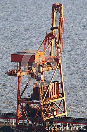 Cranes and coal