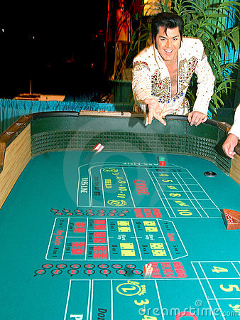 Craps With Elvis 3 Editorial Stock Image