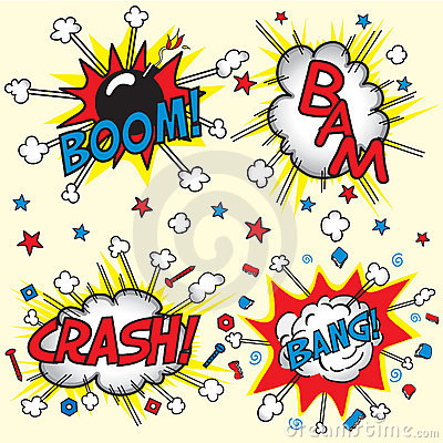 Crash, Bang, Boom and Bang!