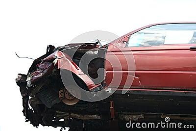 Crash flying car
