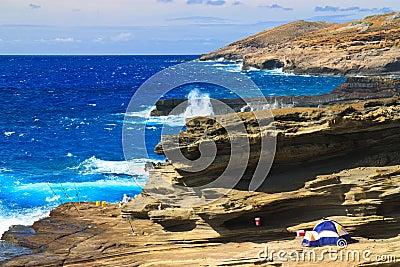 Crashing Waves, Southeast Oahu