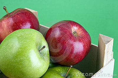Crate of Apples