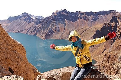 Crater Lake of Changbai Mountain