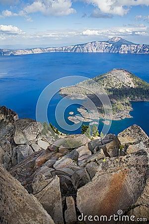 Free Crater Lake Oregon Royalty Free Stock Image - 96037036