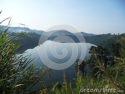 Crater lake Uganda