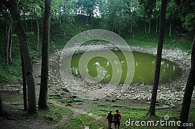 Crater (meteorite) in Kaali