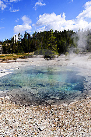Crater Spring, Yellowstone National Park